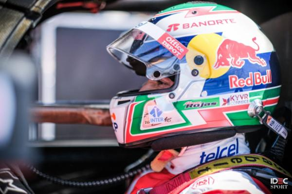 Parte Memo Rojas de la primera fila en el circuito de Paul Ricard