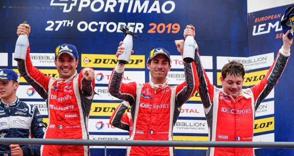 El mexicano Memo Rojas es campeón de la European Le Mans Series