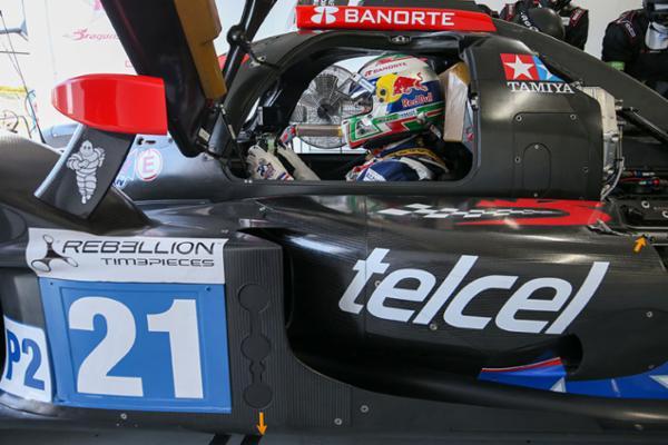 Muestra velocidad Memo Rojas en test en Spa-Francorchamps
