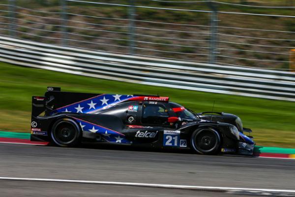Falla mecánica daña carrera de Memo Rojas en Spa-Francorchamps