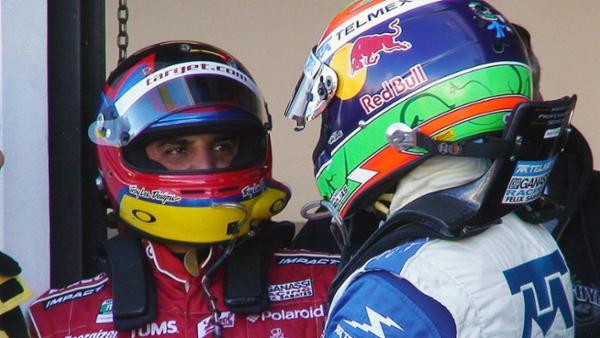 El mexicano Memo Rojas y el colombiano Juan Pablo Montoya juntos para las 24 Horas de Le Mans