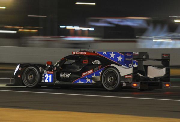 Con gran ritmo, Memo Rojas en remontada en Le Mans