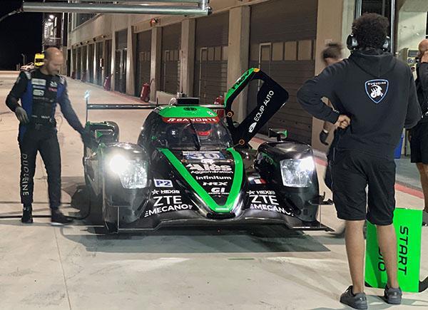 Concreta Memo Rojas testing en Motorland de cara a Le Mans