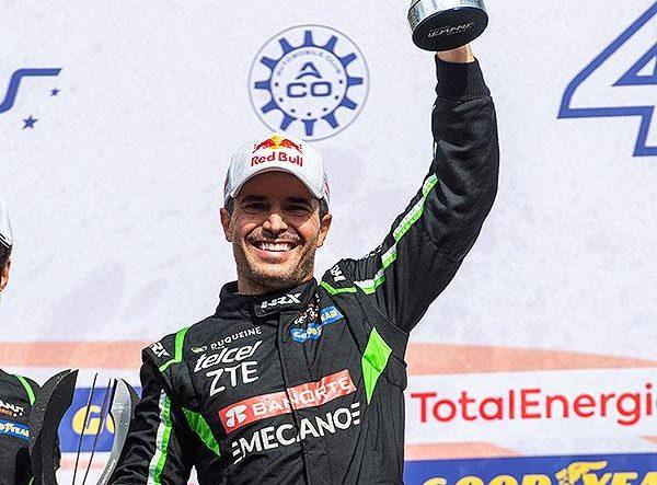 Memo Rojas logró podio en Spa Francorchamps